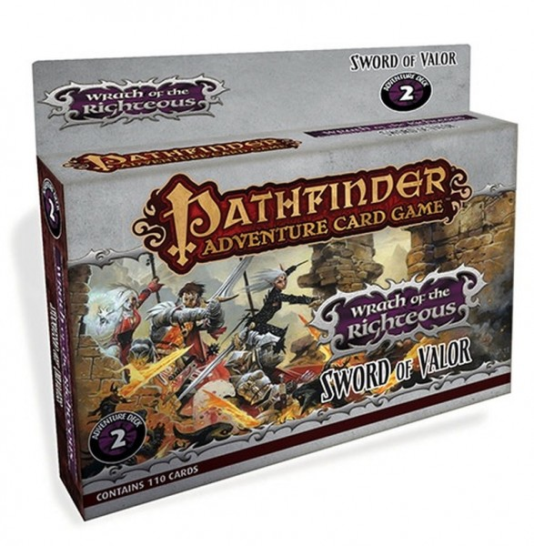 Pathfinder Adventure Card Game: Wrath of the Righteous Sword of Valor