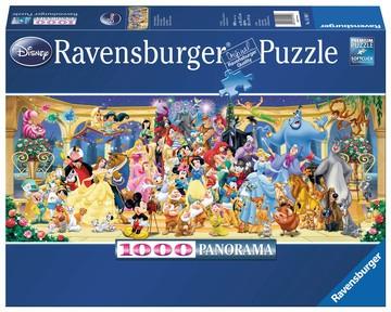Puzzle: Disney Gruppenfoto (1000 Teile)