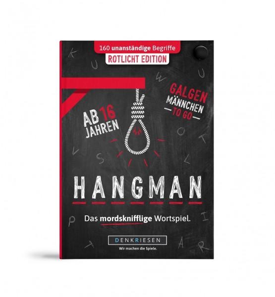 "HANGMAN – Rotlicht Edition ""Galgenmännchen TO GO"""