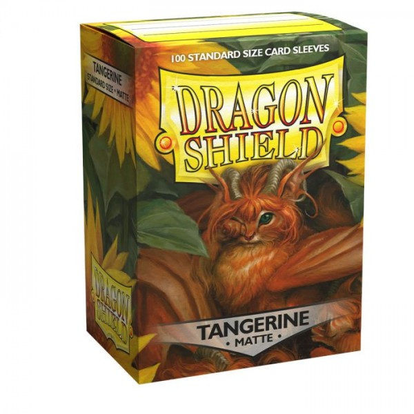 Dragon Shield: Matte – Tangerine (100)