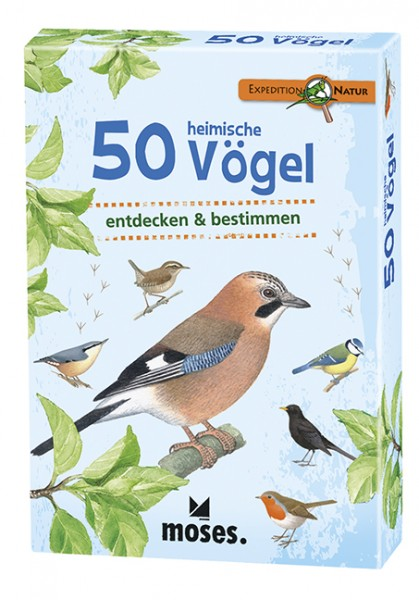 Expedition Natur – 50 heimische Vögel