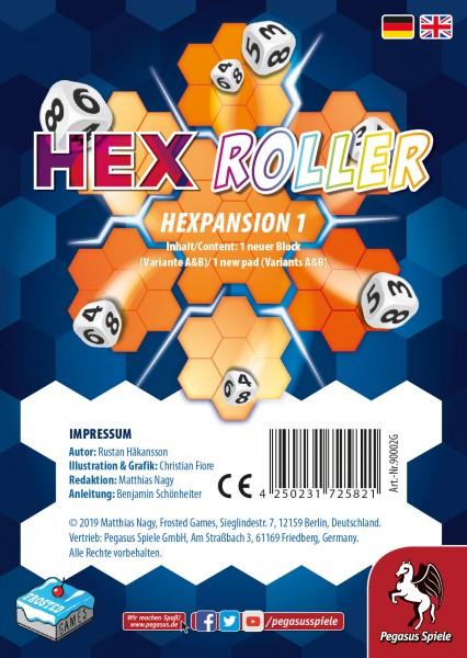 HexRoller: Hexpansion 1 [Erweiterung] (Frosted Games)