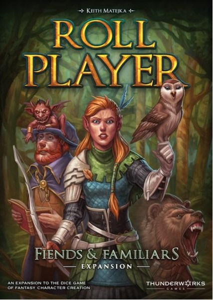 Roll Player: Friends & Familiars Expansion