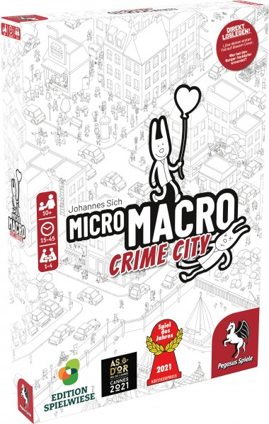 MicroMacro: Crime City (Edition Spielwiese) *Spiel des Jahres 2021*