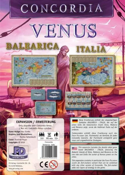 Concordia Venus: Balearica - Italia [Erweiterung]