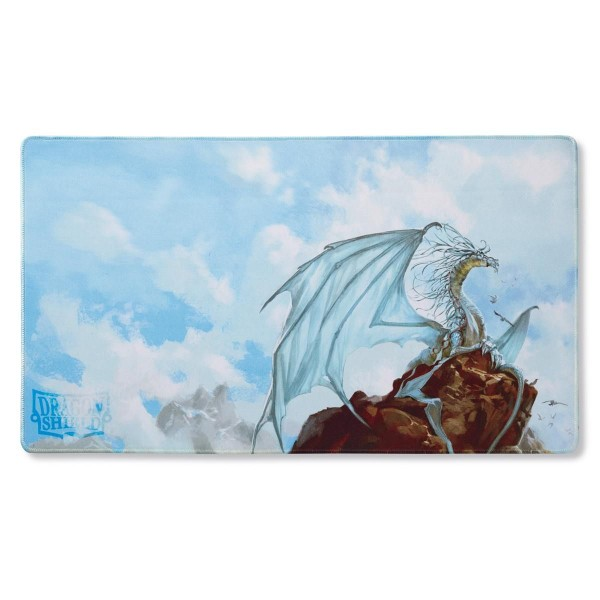Dragon Shield: Playmat ART – Silver: Dragon Caelum *limited*