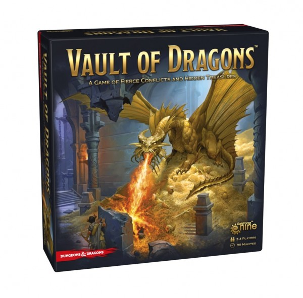 Dungeons & Dragons: Vault of Dragons Boardgame