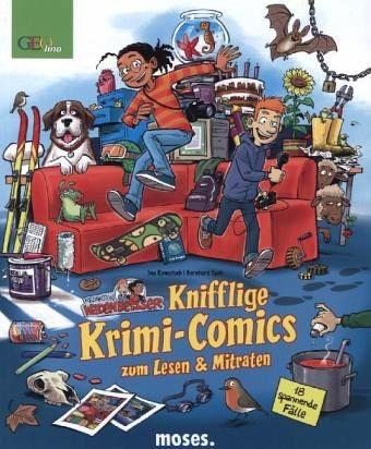 Redaktion Wadenbeißer – Verzwickte Krimi-Comics Bd. 4