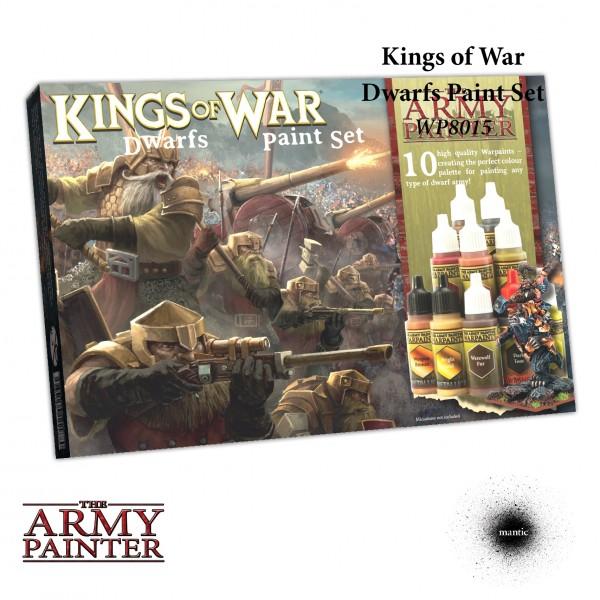 Army Painter - Warpaints Kings of War Dwarfs