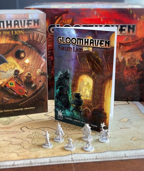 Gloomhaven: Fallen Lion (Comic)