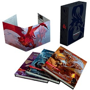 Dungeons & Dragons: RPG Core Rulebooks Gift Set (HC)