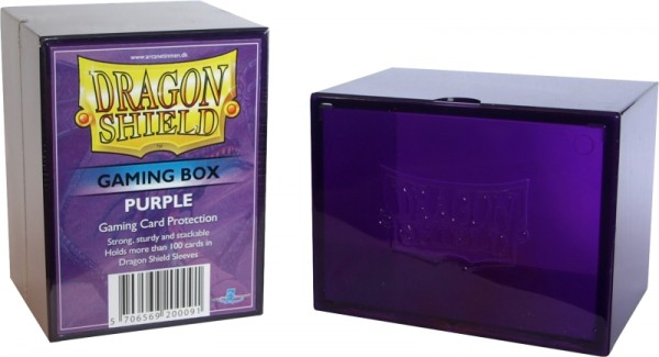 Dragon Shield: Gaming Box - Strong Box 100+: Purple