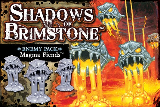 Shadows of Brimstone: Magma Fiends Enemy Pack [Expansion]