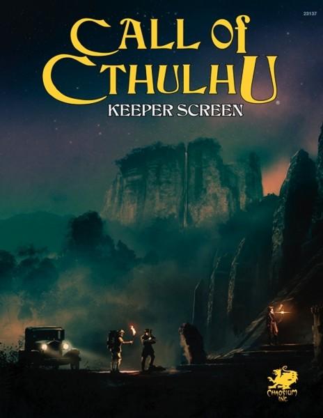Cthulhu: 7th Edition Keeper Screen