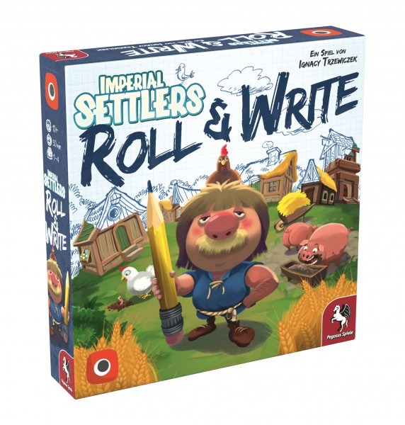 Imperial Settlers: Roll & Write (Portal Games)
