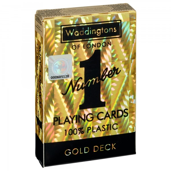 Playing Cards - Gold Deck