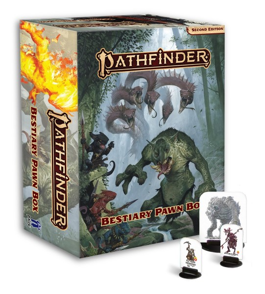 Pathfinder: Bestiary Pawn Box