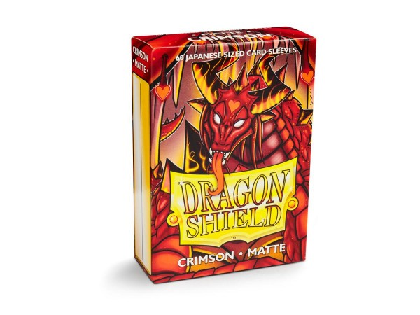 Dragon Shield: Japanese Matte – Crimson (60)