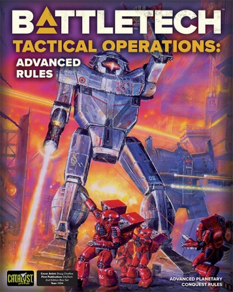 BattleTech: Battletech Tactical Ops Advanced Rules