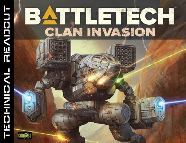 BattleTech: Technical Readout Clan Invasion