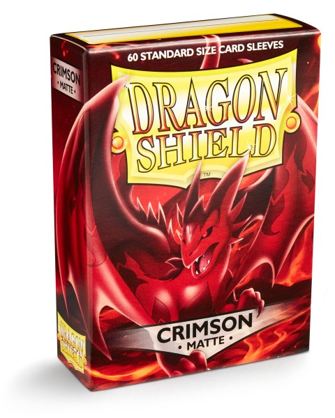 Dragon Shield: Matte – Crimson (60)