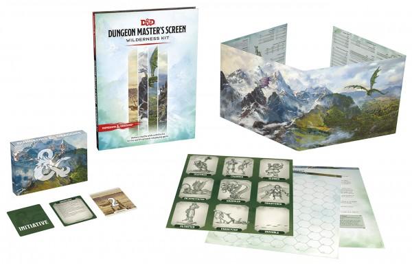 D&D: RPG Dungeon Master's Screen Wilderness Kit