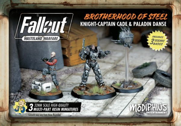 Fallout: Wasteland Warfare - Brotherhood of Steel Knight-Captain Cade, Paladin Danse