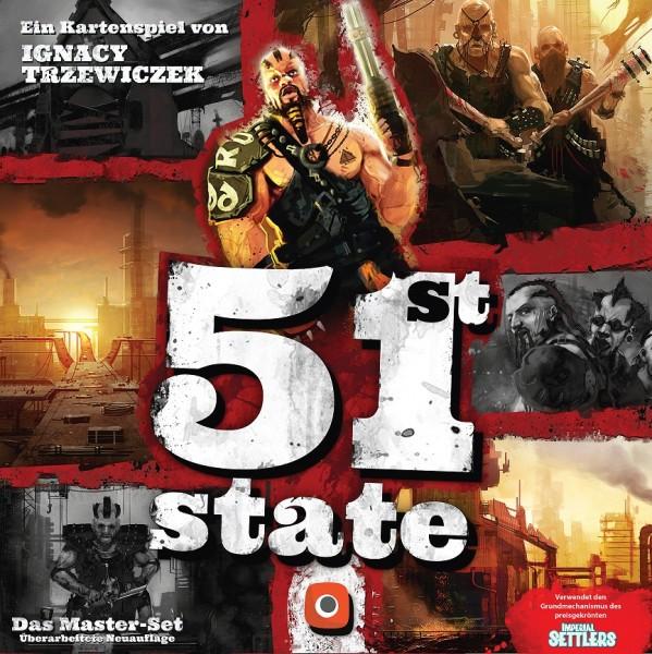 51st State: Master Set (Portal Games, deutsche Ausgabe)