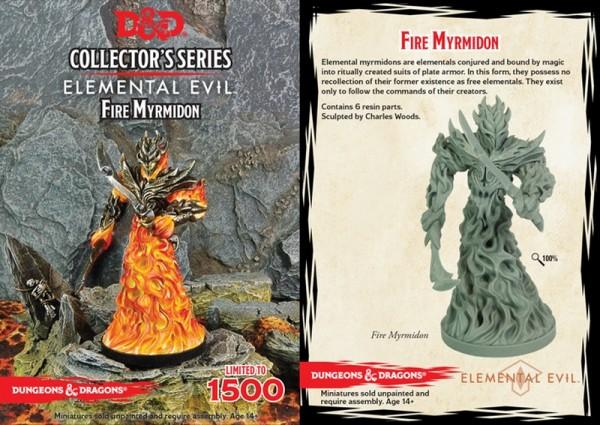 Temple of Elemental Evil: Fire Myrmidon (1 Figur)