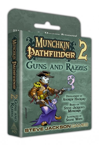 Munchkin Pathfinder 2 - Guns and Razzes