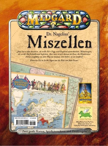 MIDGARD Abenteuer 1880: Miszellen