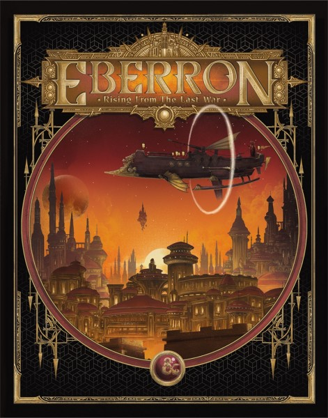 D&D Adventure Eberron: Rising from the Last War (Alternate Cover)