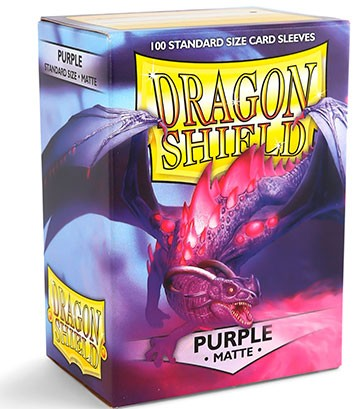 Dragon Shield: Matte – Purple (100)