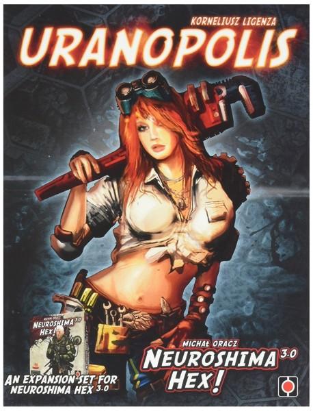 Neuroshima Hex! 3.0: Uranopolis [Erweiterung] (Portal Games, deutsche Ausgabe)