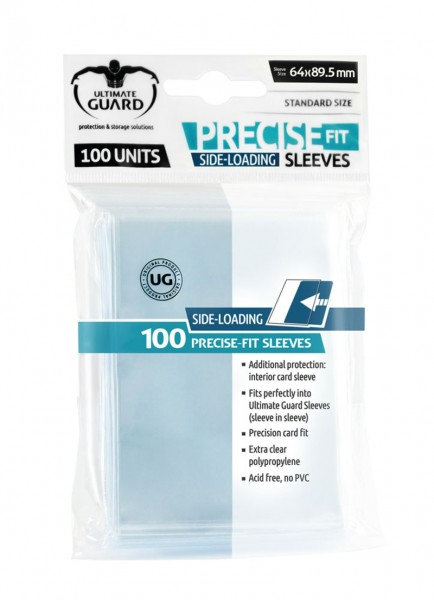Precise-Fit Side-Loading Standard - Clear (100)