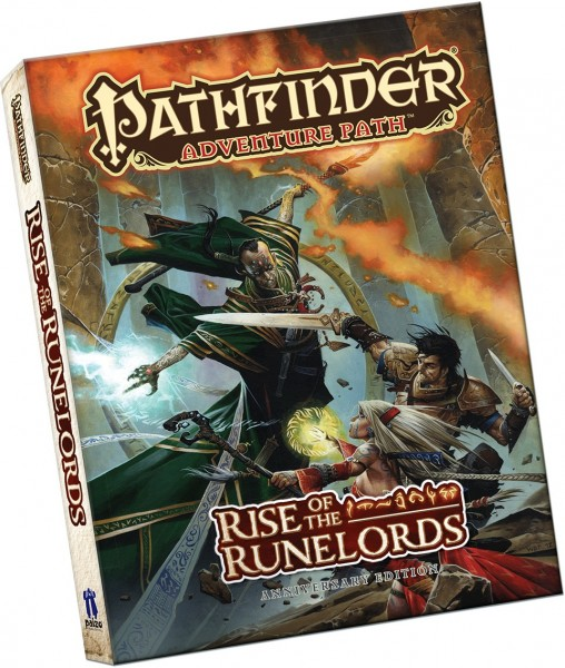 Pathfinder: Rise of the Runelords Anniversary Pocket Edition