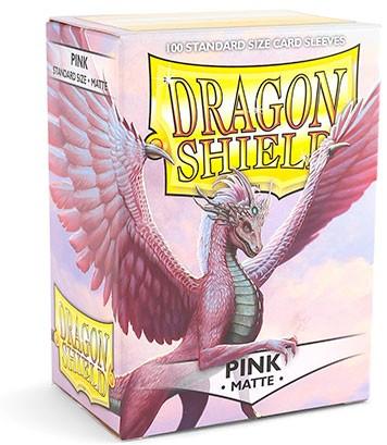 Dragon Shield: Matte – Pink (100)