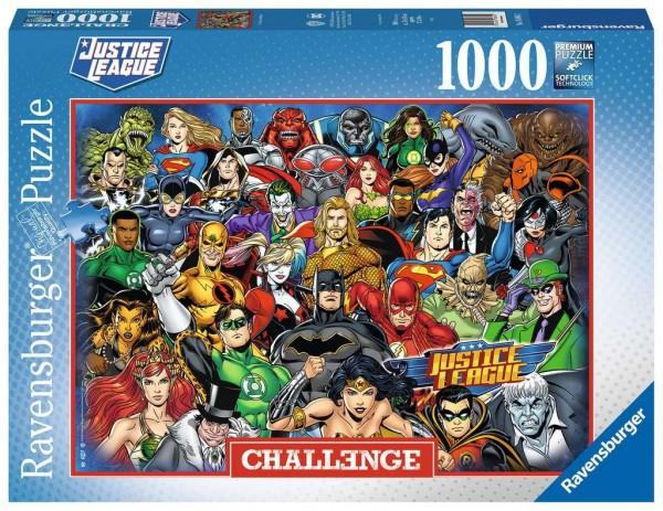 Puzzle: Challenge DC Comics (1000 Teile)
