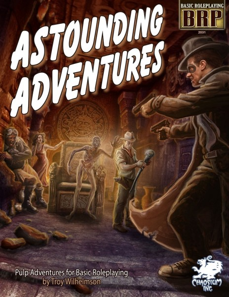 Basic Role Playing: Astounding Adventures