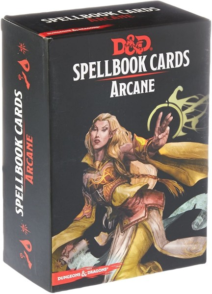 Dungeons & Dragons: Arcane Spell Deck REVISED (253 Cards)