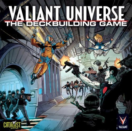 Valiant Universe: Legends Rising Deckbuilding Game