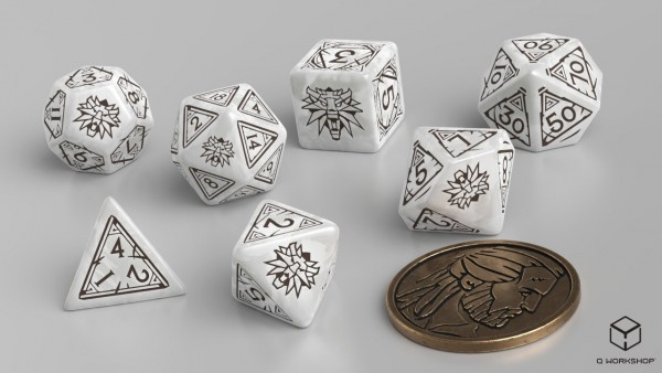 The Witcher Dice Set: Geralt – The White Wolf (7)