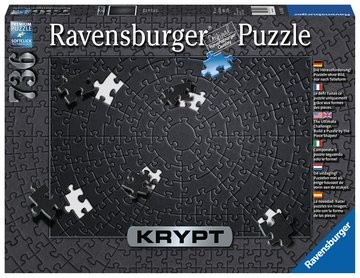Puzzle: Krypt Black (736 Teile)