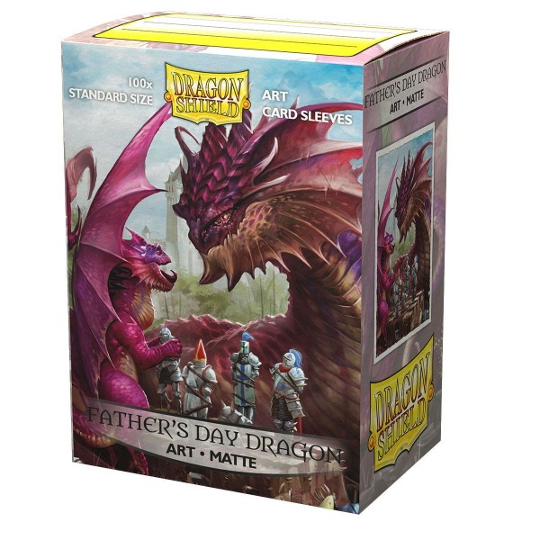Dragon Shield: ART Sleeves Matte Classic – Father's Day Dragon (100)