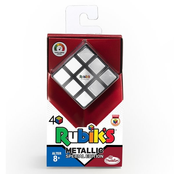 Rubik's Cube – Metallic Special Edition