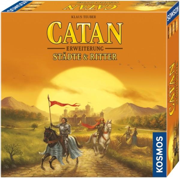 Catan: Städte & Ritter 3-4 Spieler [Erweiterung] *Neu*