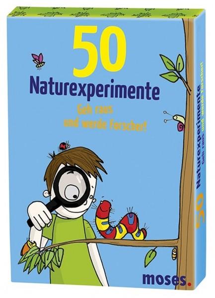 50 Naturexperimente – Geh raus und werde Forscher!