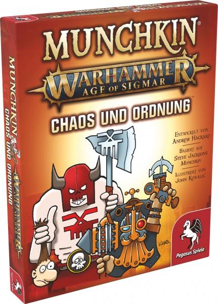 Munchkin Warhammer Age of Sigmar: Chaos & Ordnung [Erweiterung)