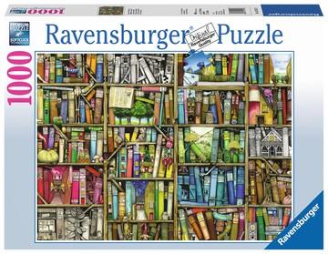 Puzzle: Magisches Bücherregal (1000 Teile)