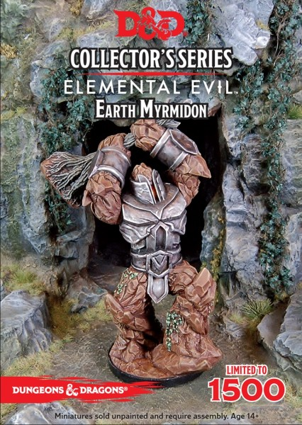 Temple of Elemental Evil: Earth Myrmidon (1 Figur)